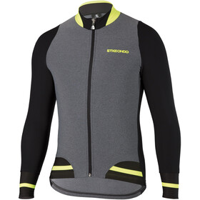 Etxeondo Bomber Maillot Thermique Homme, grey/y. fluor/black